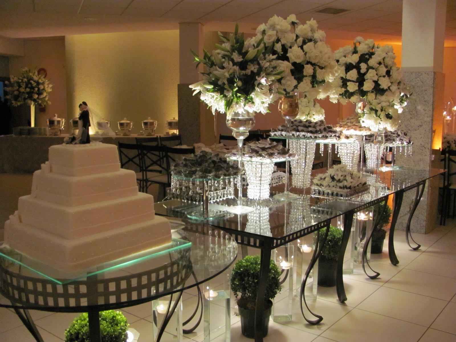 decoracao branca e verde para casamento : decoracao branca e verde para casamento:Recanto das Flores: Decoração casamento Atrium recepções