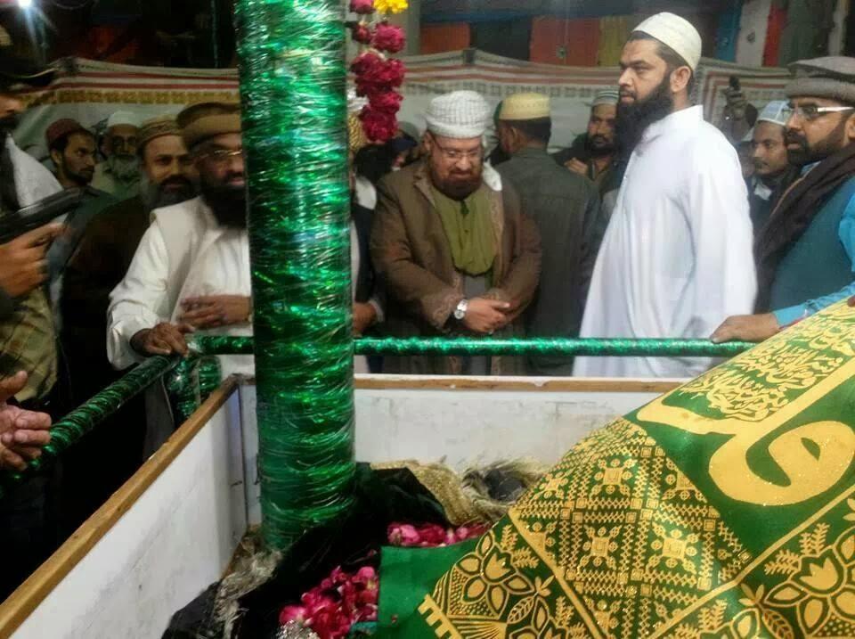 Hazrat Sakhi Abdul Wahaab Shah Jeelaani allama kaukab noorani okarvi