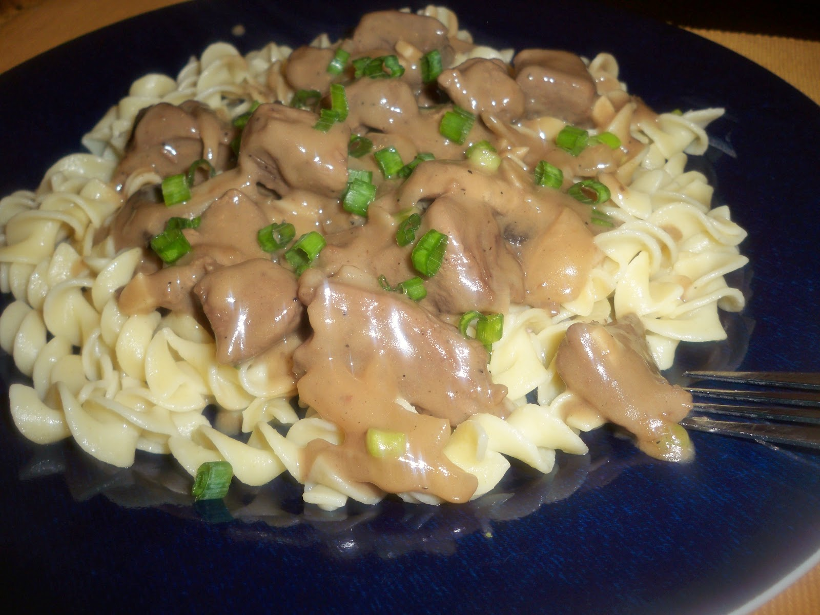 Creamy Beef Stroganoff over Buttery Egg Noodles | Mama Harris' Kitchen