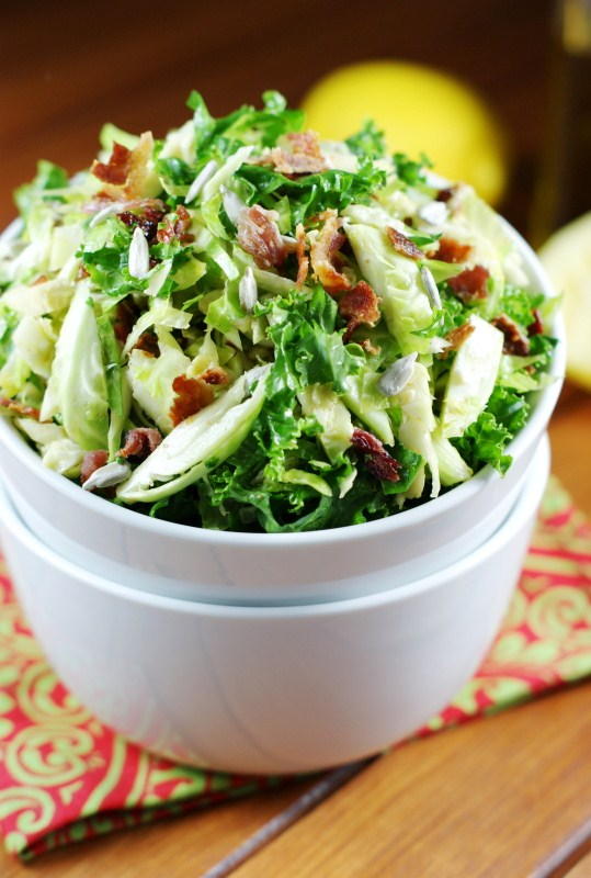 The Kitchen is My Playground: Shredded Brussels Sprouts Salad
