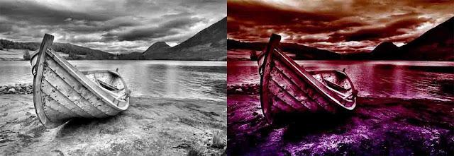 Gradientes para Photoshop que permiten recolorear fotografias en blanco y negro
