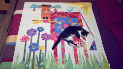 Em Makes the Cow Quilt from Out of the Box with Easy Blocks