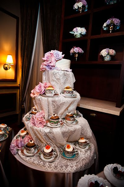 Swanky Chic Fete Cupcakes In Tea Cups