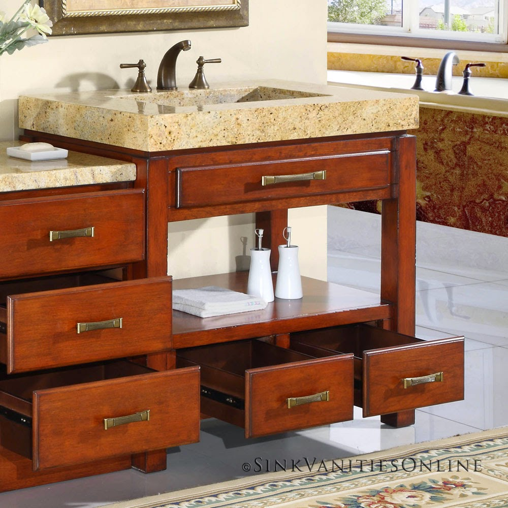 Cool Bathroom Sink Cabinets Design Ideas