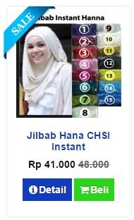 Jilbab Hana Murah