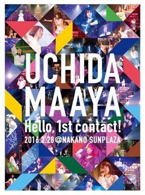 [TV-SHOW] 内田真礼 – UCHIDA MAAYA 1st LIVE「Hello, 1st contact!」