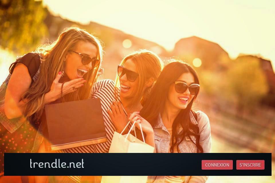 Trendle le réseau social pour les fans de mode.
