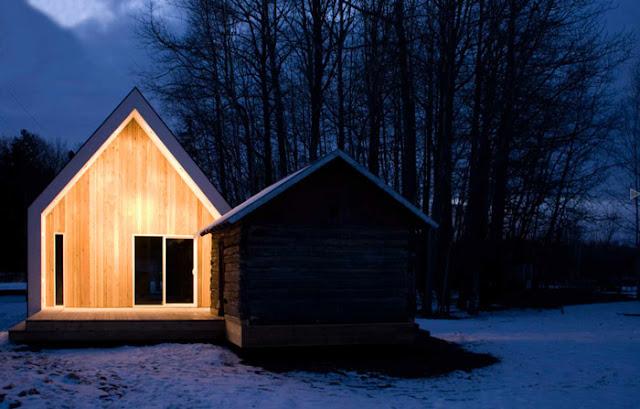 bioi wartburg house wood directional lighting