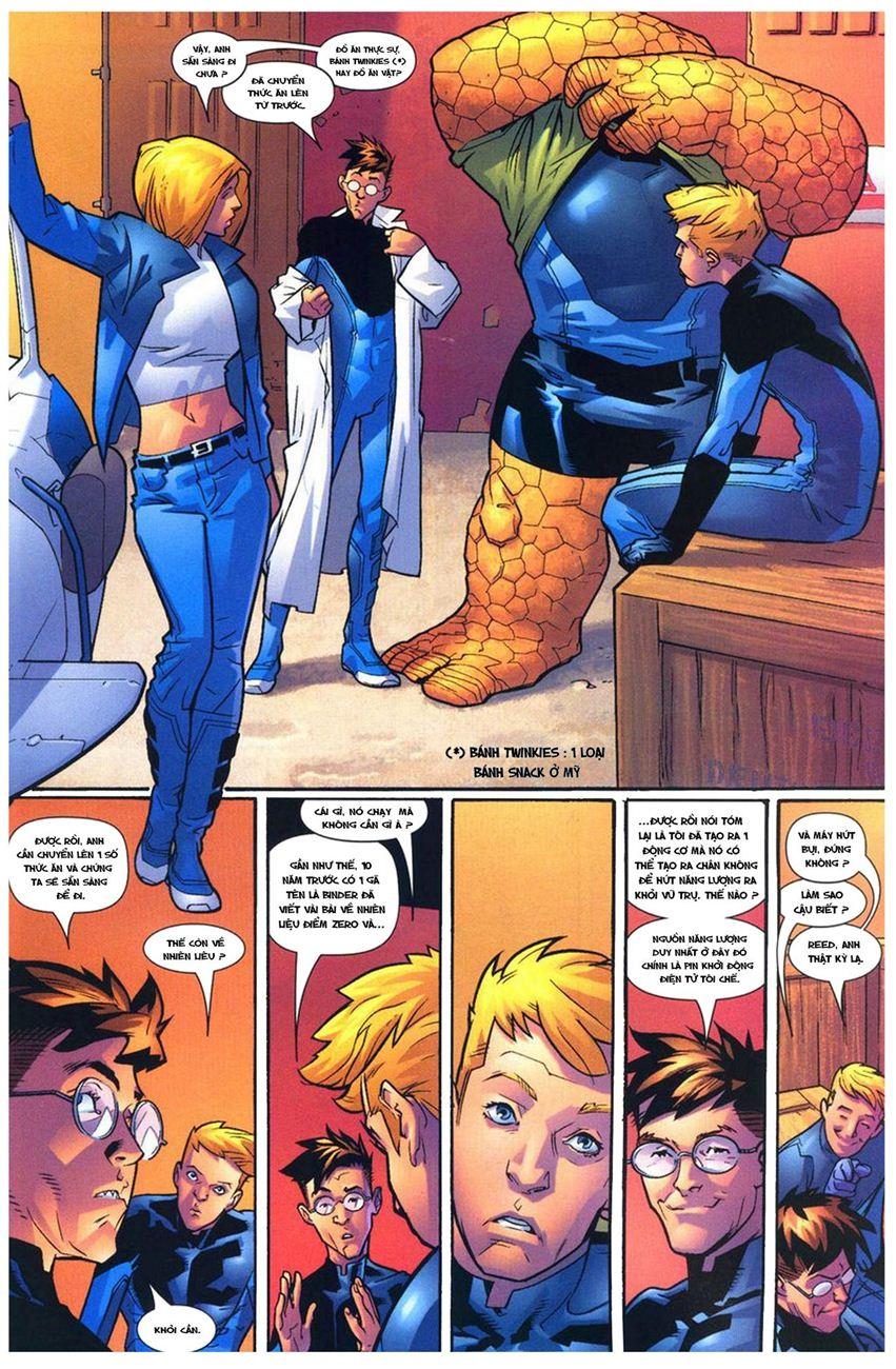 Ultimate Fantastic Four chap 10 - Trang 21