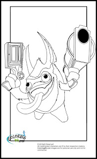 skylanders magic pop fizz coloring pages