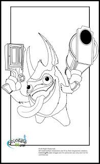 skylanders magic pop fizz coloring pages