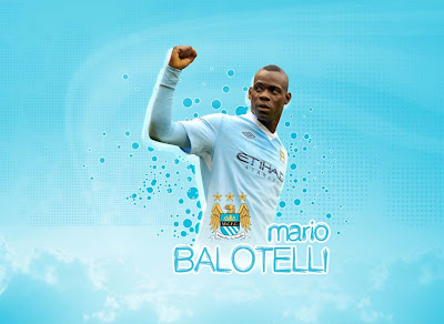 Mario Balotelli Manchister City 2012 Wallpapers