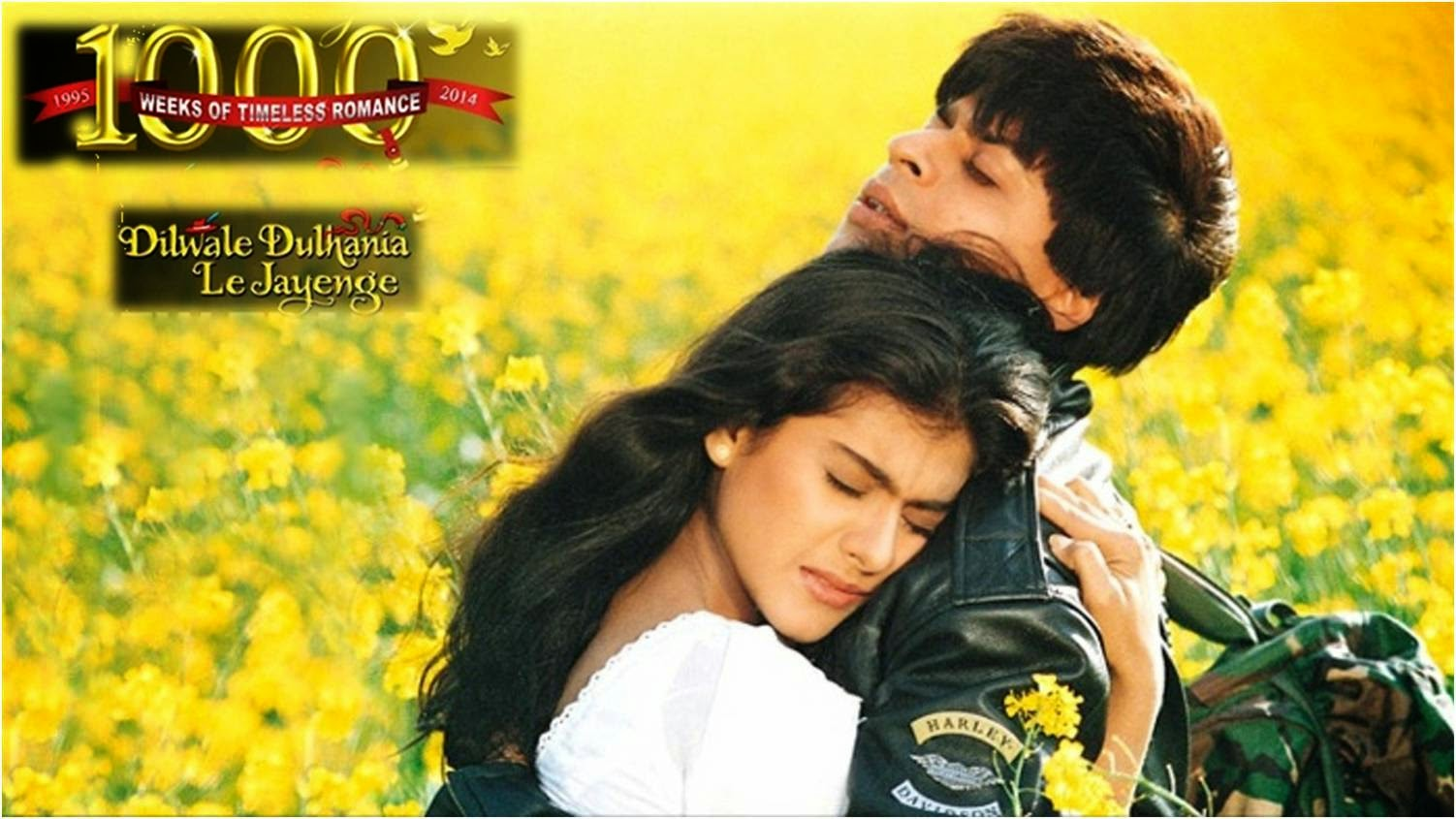 DDLJ: Romantic love story of Shahrukh Khan and Kajol in Dilwale Dulhaniya Le Jayenge