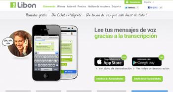 crea salas de chat y realiza llamadas gratis con Libon - www.dominioblogger.com