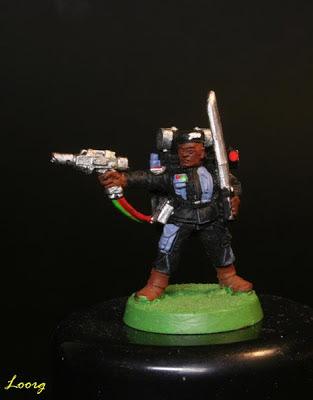 Sargento de los Comandos de Choque de Warhammer 40000