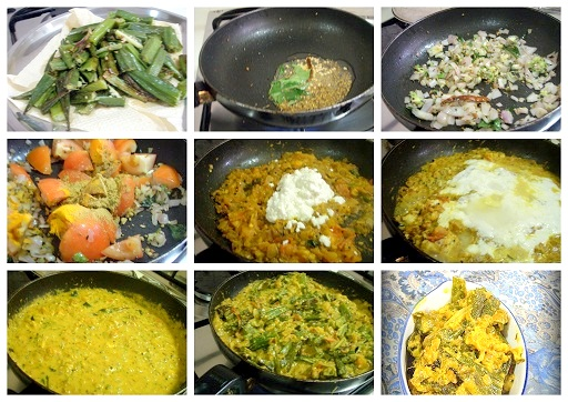 bhindi/okra recipes