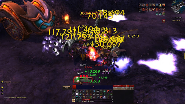 ridiculous world of warcraft fury warrior aoe dps