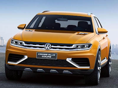 VW CrossBlue Coupe Concept