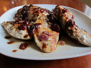 5 ingredient dinner: Raspberry Balsamic Chicken