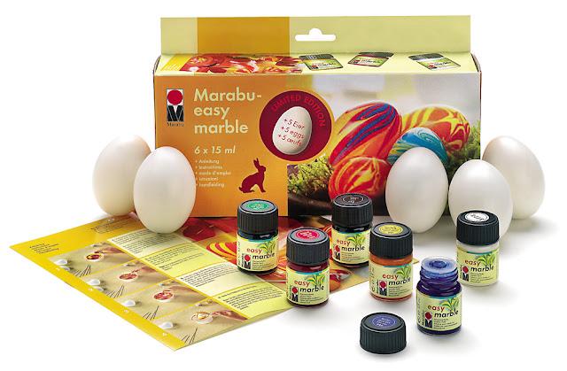 краски для марморирования Marabu Easy Marble