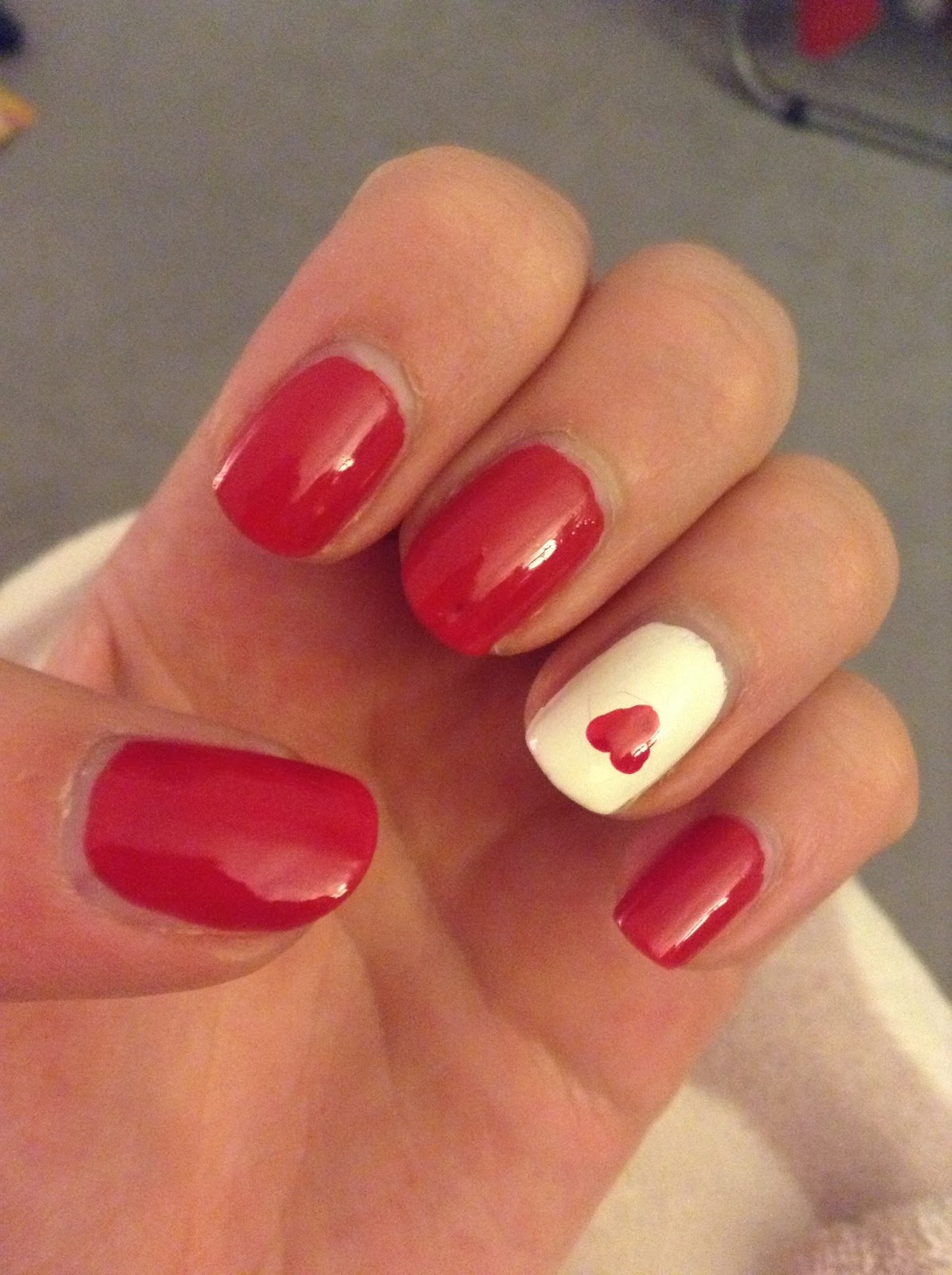 1000  ideas about Heart Nails on Pinterest | Nails, Valentine ...