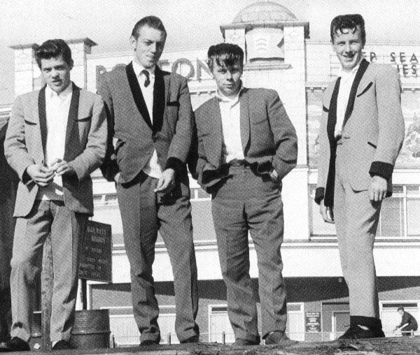 ROSE C'EST LA VIE: Teddy Boys Original & Revisited