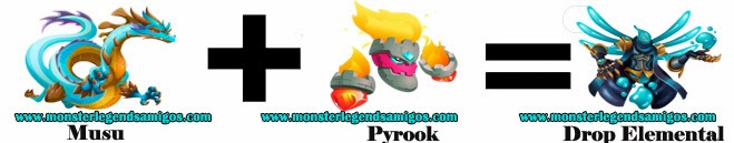 como obtener el monster drop elemental en monster legends formula 3