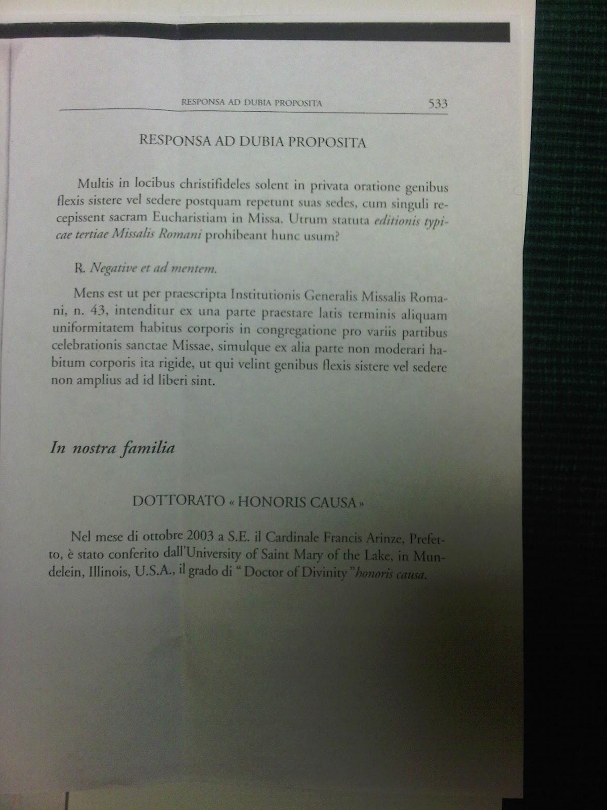 general instruction of the roman missal australia 2012