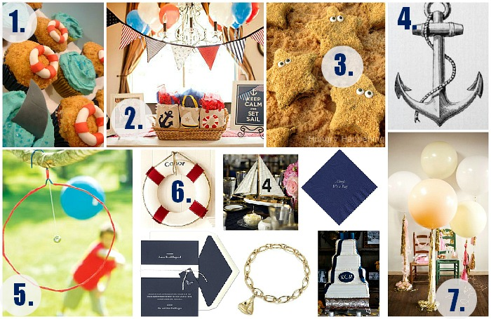 Go back gt gallery for gt nautical party decor diy