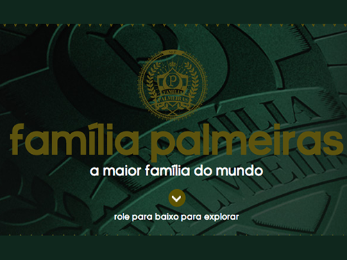 Participar promoção Família Palmeiras