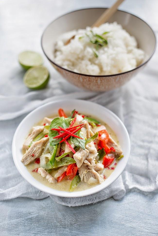 Easy Thai Green Chicken Curry