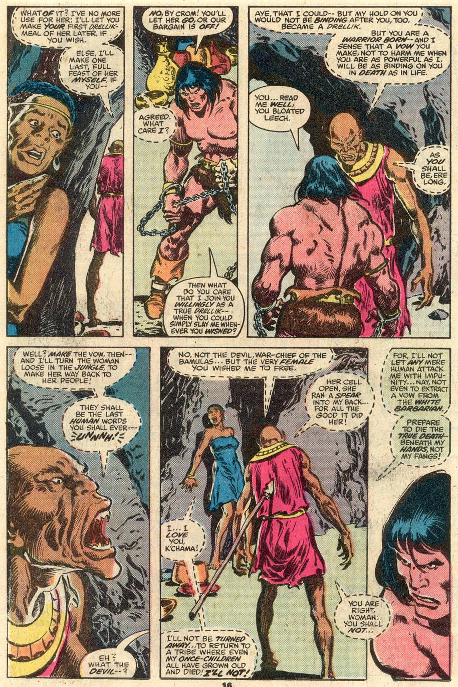 Conan the Barbarian (1970) Issue #103 #115 - English 11
