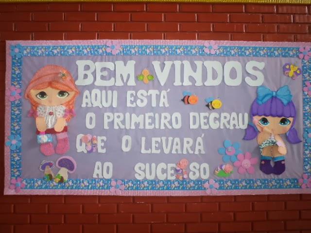 Ideias solu es por jesana costa mural de volta as aulas for Bordas para mural