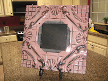 Shabby Chic Tin Frame- SOLD