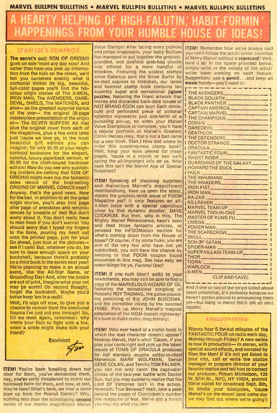 Conan the Barbarian (1970) Issue #57 #69 - English 20