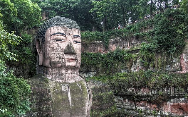 O incrível Grande Buda de Leshan