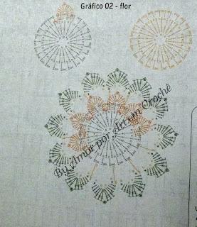 Tapete, caminho de mesa em formato de oito com gráfico
