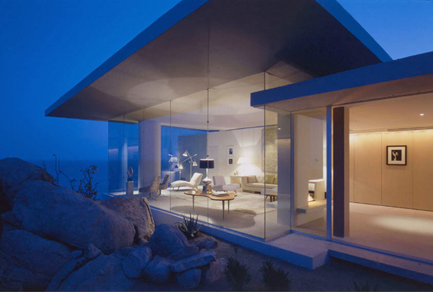 Beautiful Minimalist Beach House Interior In Cabo San Lucas Mexico