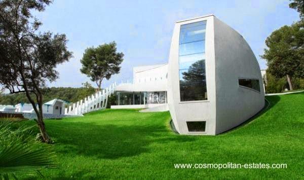 Residencia contemporánea vanguardista en Mallorca, España