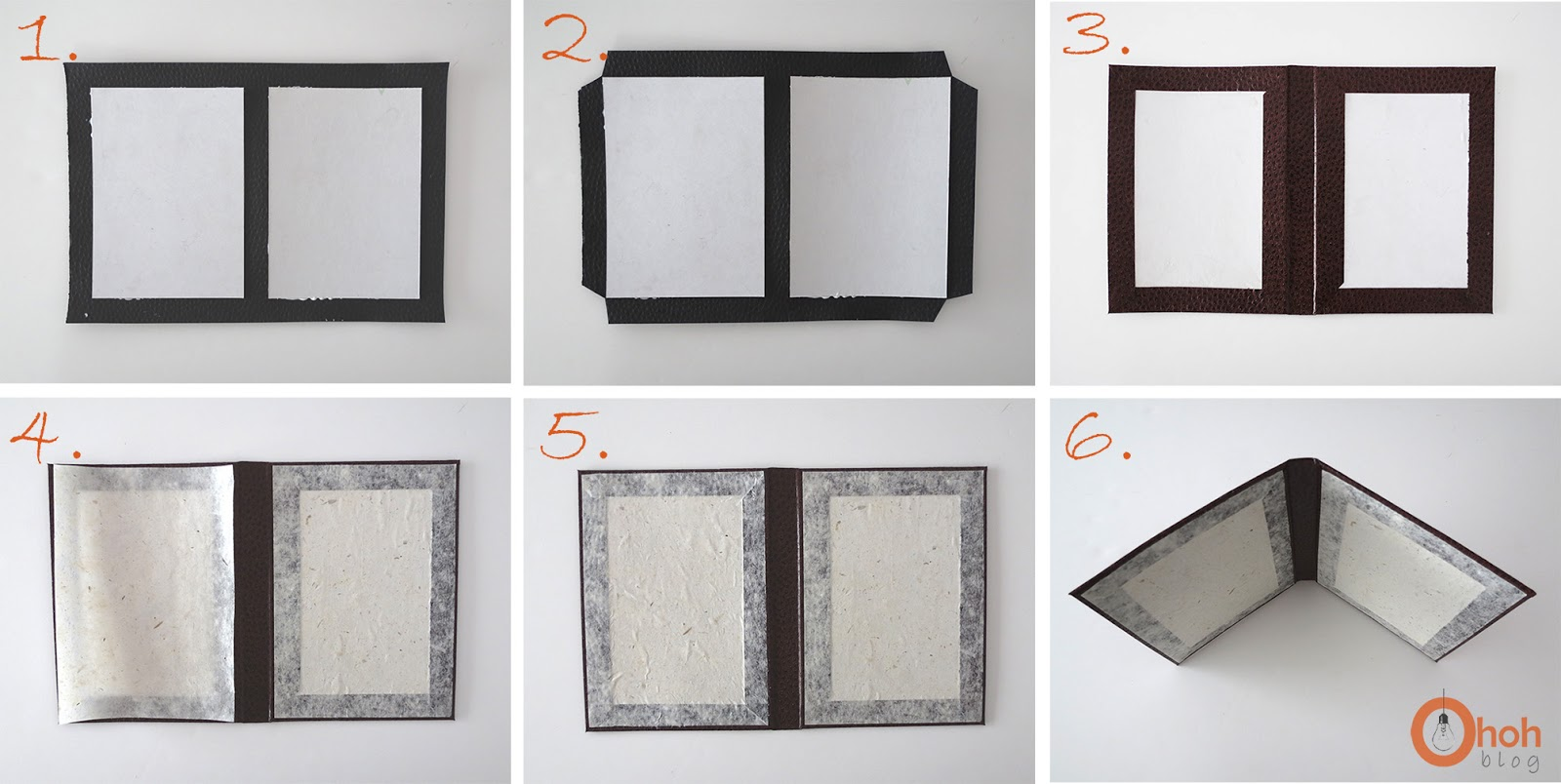 DIY Cardboard Photo Frame Ohoh Blog