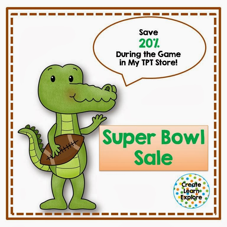 Super Bowl Sale- Game Time