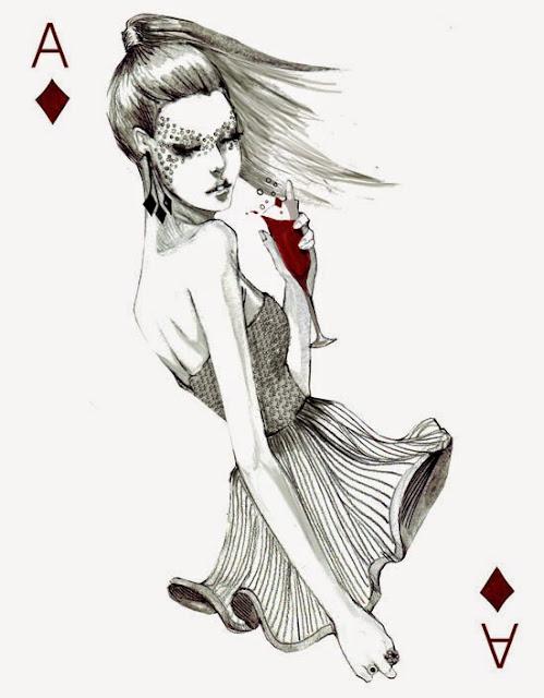 Рисуем девушку с картой