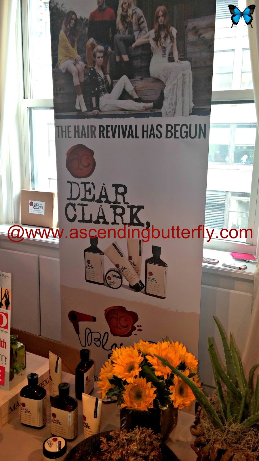 Dear Clark Display at BeautyPress Spotlight Day February 2014