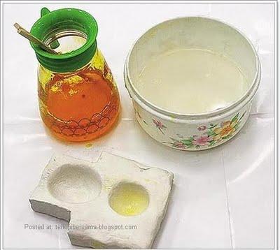 bahan telur kuning untuk telur tiruan