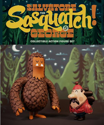 Salvatore the Sasquatch & George Action Figure Set by Invisible Creature