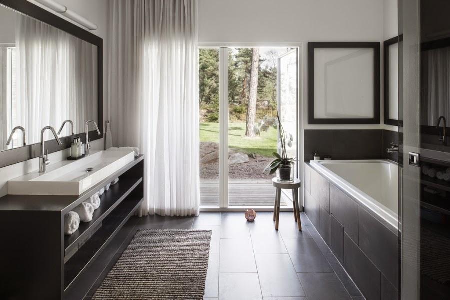 wystrój wnętrz, wnętrza, home decor, styl nowoczesny, nowoczesne wnętrza, białe wnętrza, łazienka