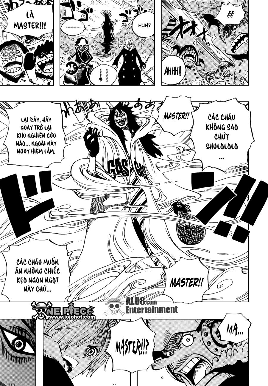 One Piece Chapter 673: Vergo & Joker 007