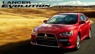 Harga Mitsubishi Lancer Evolution Mei 2012