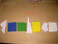 Letrero Gorjuss letras marcadas