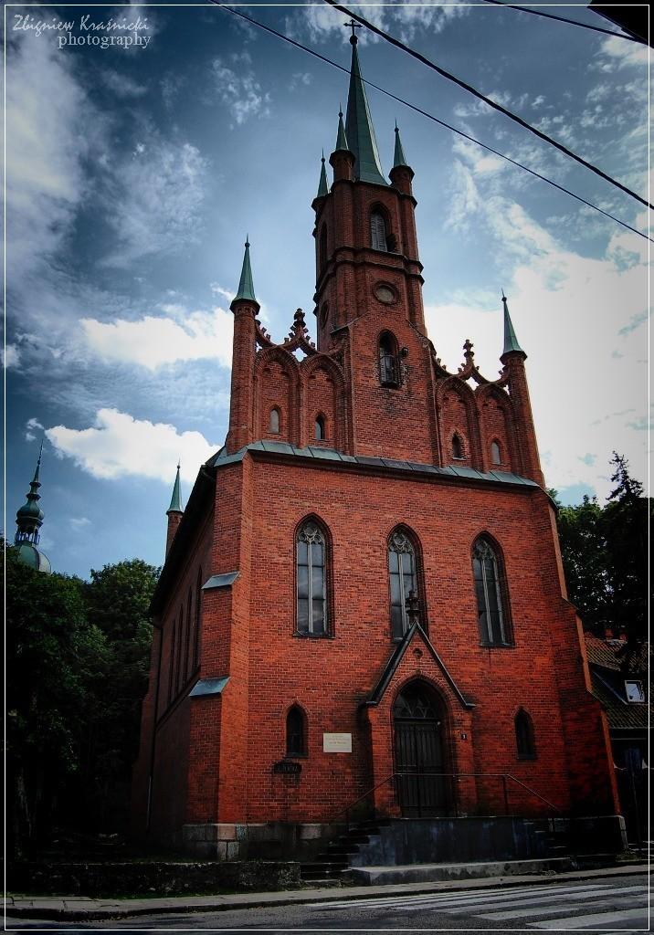 Frombork. Kościół poewangelicki